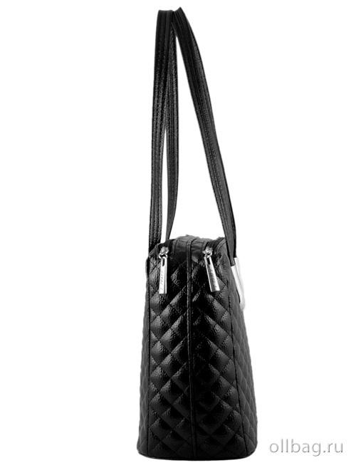 79422f0508a3 Женская сумка экокожа стеганая 1246-040 с двумя большими отделениями ...