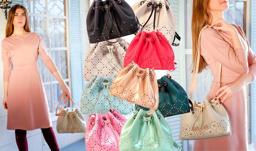 Новая коллекция нарядных ажурных сумочек