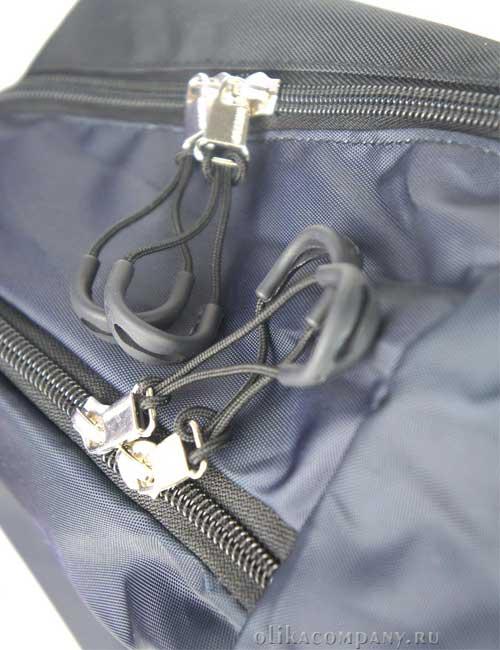 Замки и молнии молодежного рюкзака