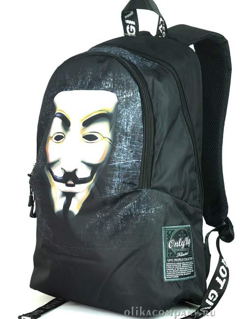 Рюкзак молодежный 8968 маска Гая Фокса