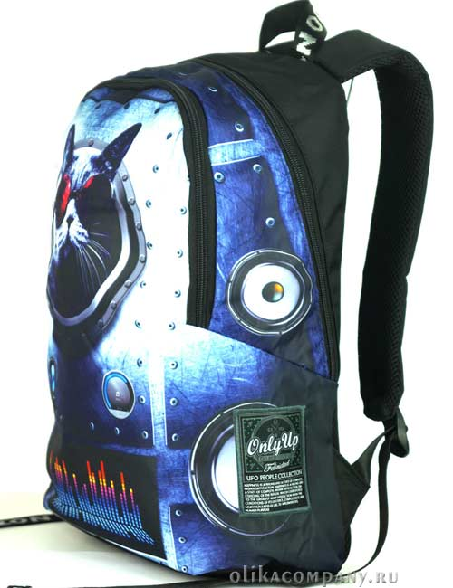 Рюкзак молодежный 8969 космический кот