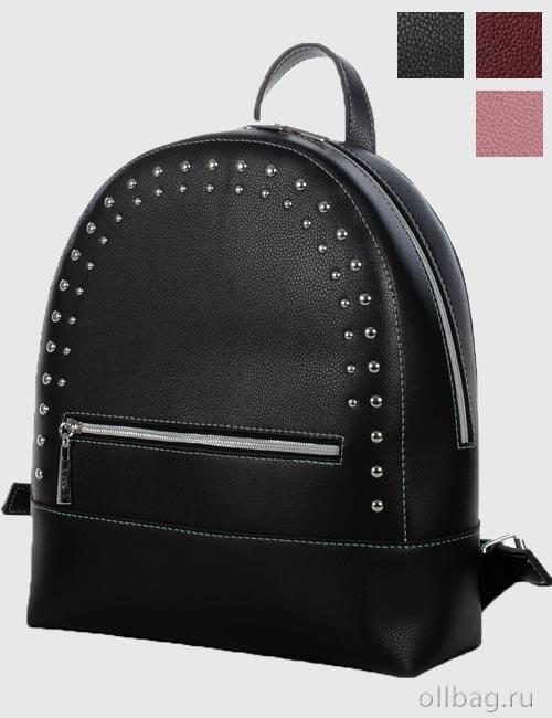 Женский рюкзак-трансформер 1392-004 экокожа гладкая заклепки