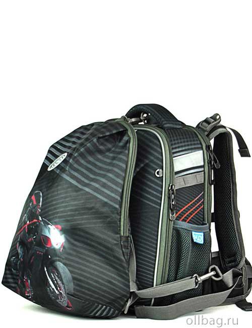 Ранец школьный ортопедический 9109 с рюкзаком для сменной обуви
