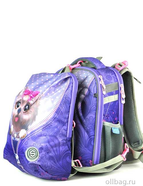 Ранец школьный ортопедический 9111 + дополнительный рюкзак для сменки