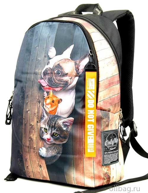 Рюкзак Printbag 9963 собака, хомяк, котенок