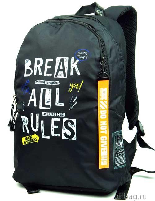 Рюкзак Printbag 9965 break all rules