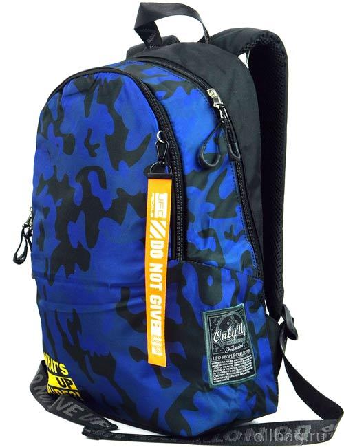 Рюкзак Printbag 9976 синий камуфляж