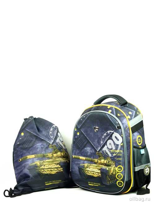 Ранец школьный ортопедический EasyCool3D 9151 с мешком для сменки