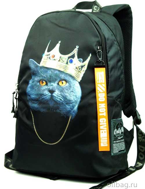 Рюкзак Printbag 9988 кот в короне