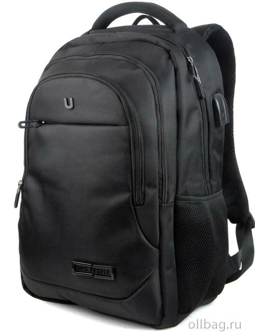 Рюкзак городской 9704 для ноутбука черный