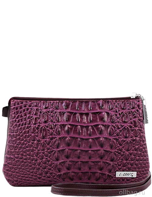 Женская сумка 806-020 темно-фиолетовая