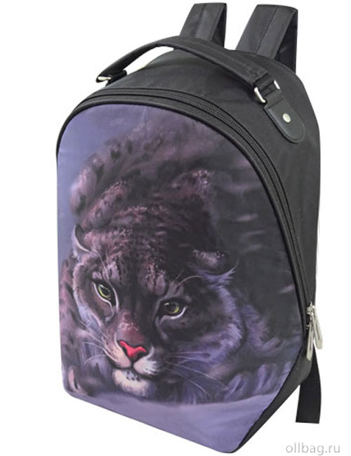 Рюкзак женский 2083-005 принт ягуар