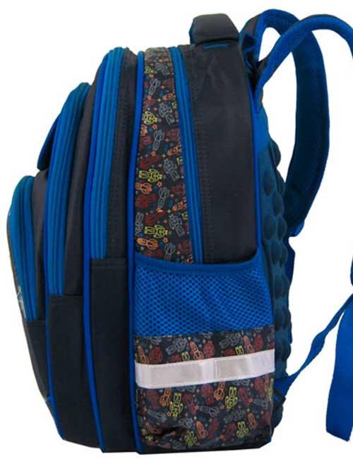 Рюкзак школьный 891508-2 сбоку
