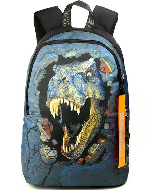 Рюкзак Printbag 2090011 с динозавром