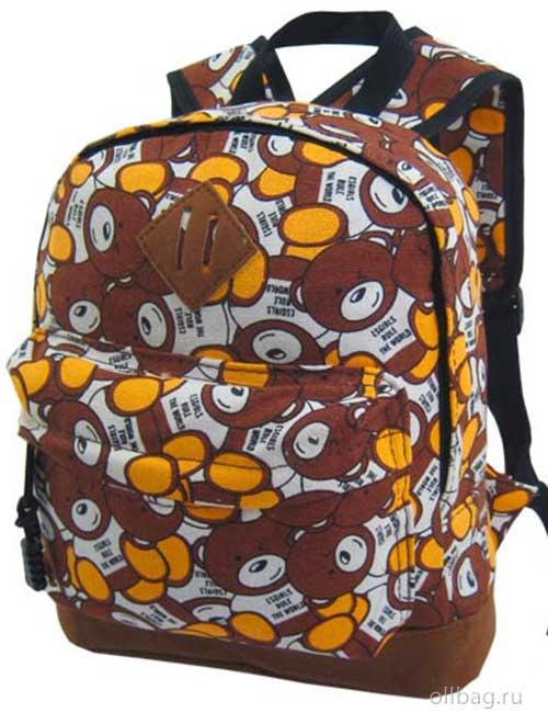 Рюкзак детский 318-19 принт медвежата