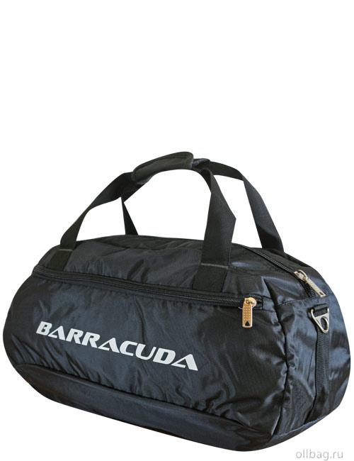 Сумка спортивная 201-12 Барракуда большая черная