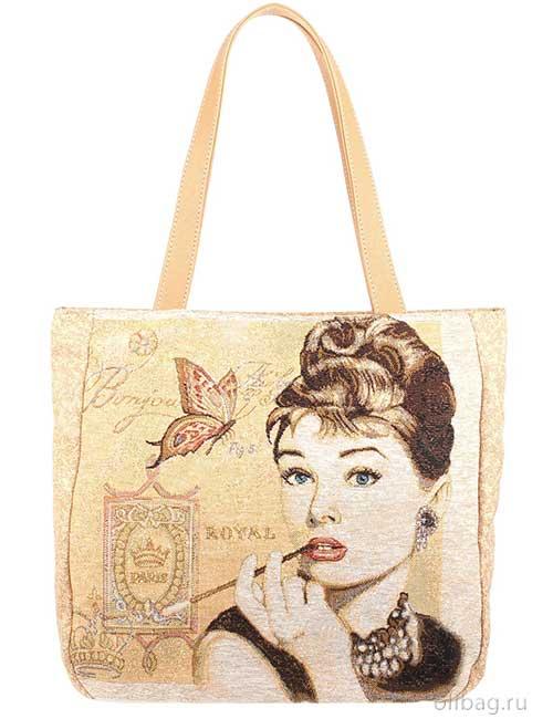 Женская сумка 1412 Одри гобелен
