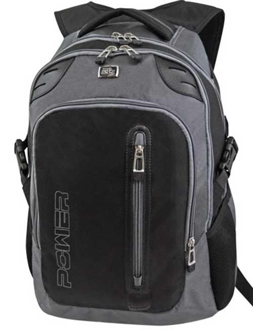 Рюкзак 1456 мужской черно-серый