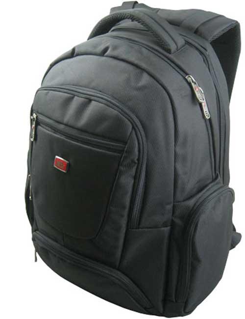 Рюкзак 2005-1 мужской черный с отделением для ноутбука