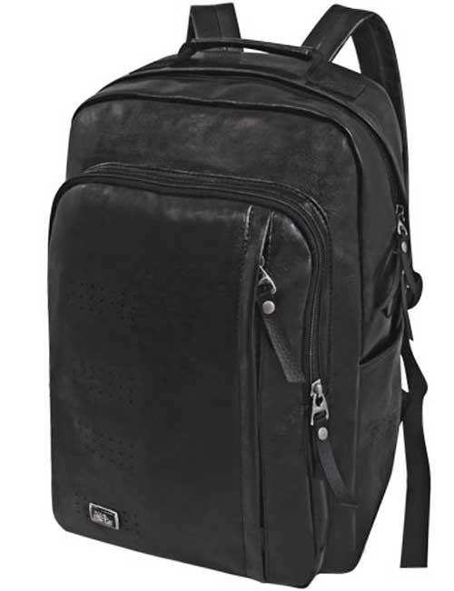 Рюкзак 2038 мужской черный с отделением для ноутбука