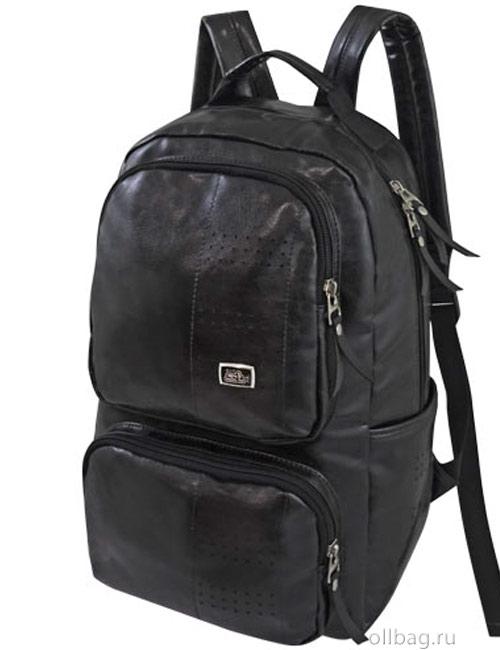 Рюкзак 2039 мужской черный с отделением для ноутбука