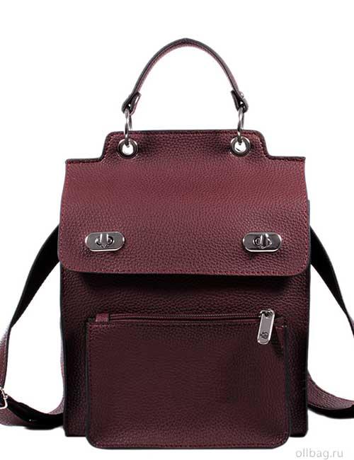 Женский рюкзак V120-001-1 спереди