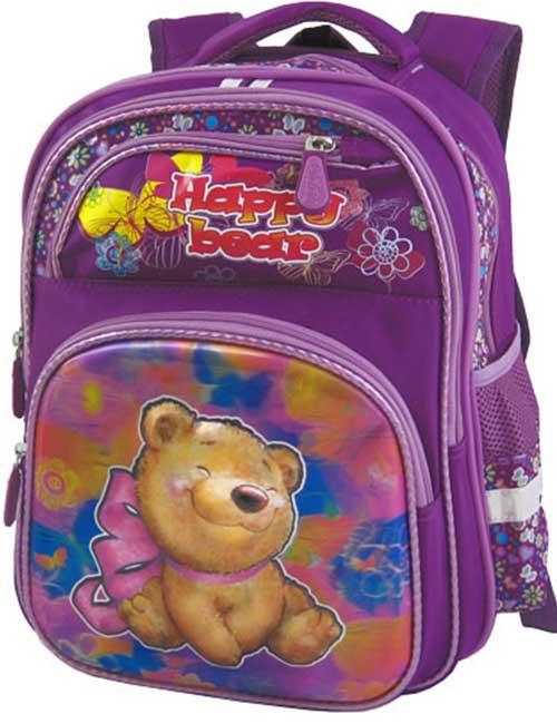 Рюкзак школьный 391483-1 фиолетовый