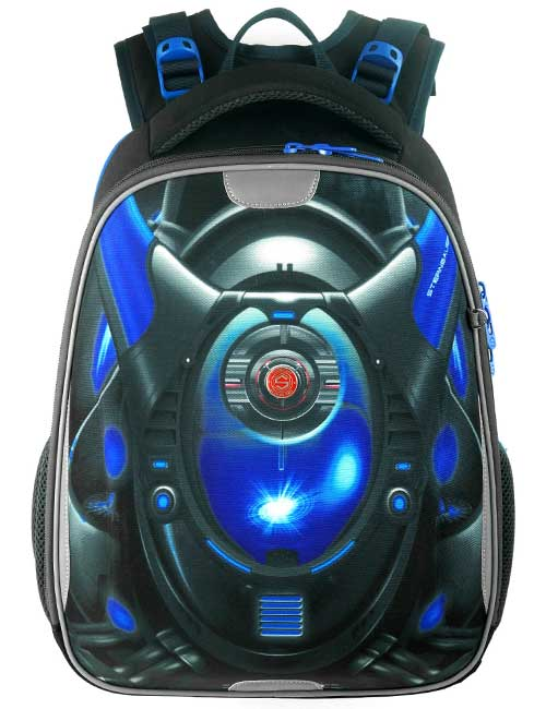 Ранец 2105 SB Combi Light школьный ортопедический на 1-4 класс для мальчика