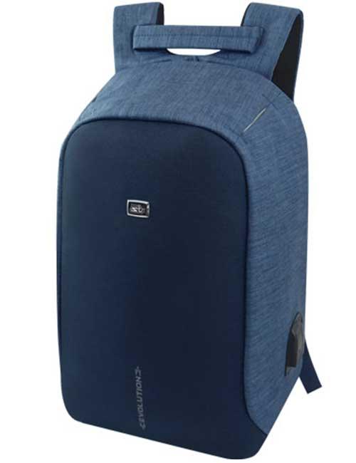 Рюкзак 1493-3 антивор синий