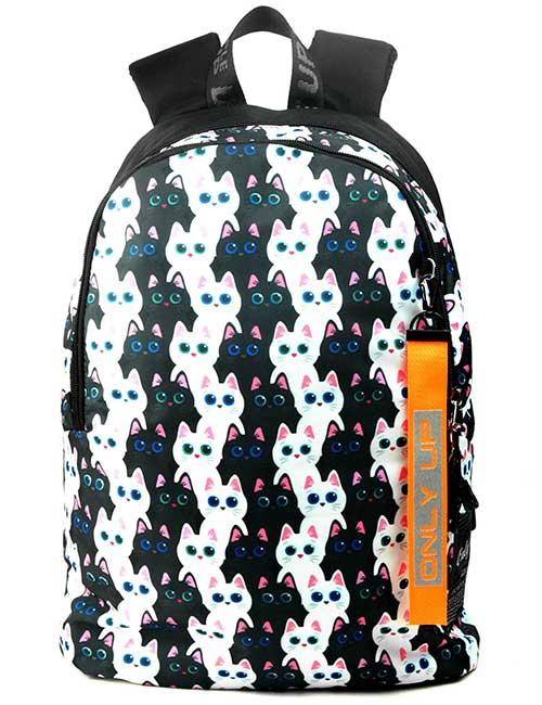 Рюкзак 2090001 Printbag черно-белые котики