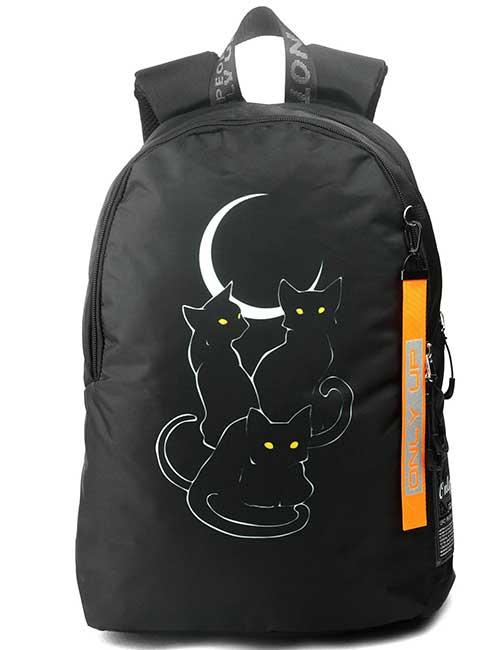 Рюкзак 2090004 Printbag черные коты