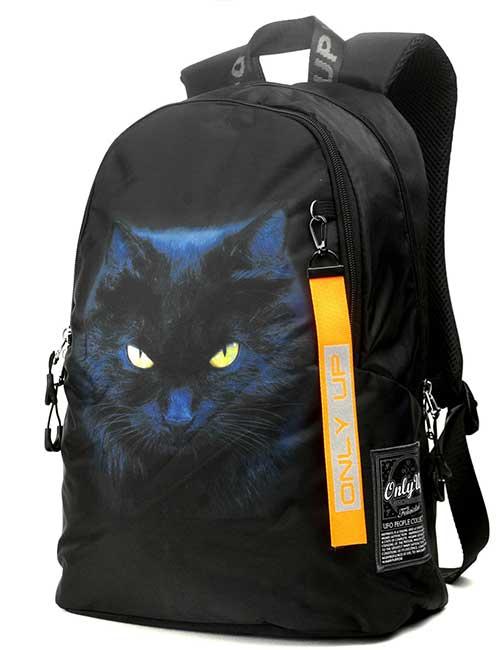 Рюкзак 2090008 Printbag черный кот