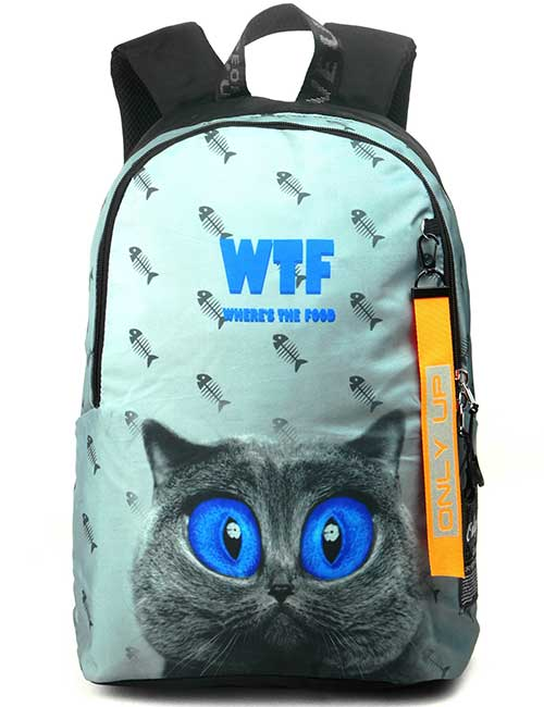 Рюкзак 2090010 Printbag котик WTF