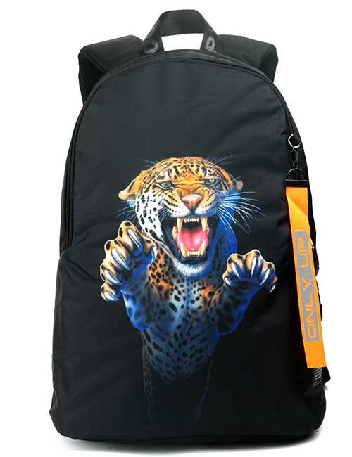 Рюкзак 2090021 Printbag черный с гепардом
