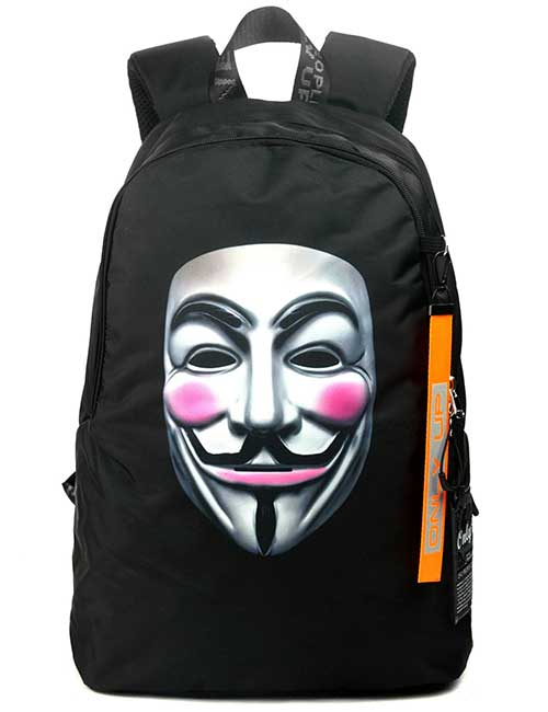 Рюкзак 2090023 Printbag черный Гая Фокса