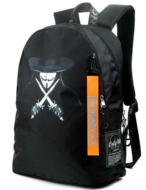 Рюкзак 2090025 Printbag черный с принтом
