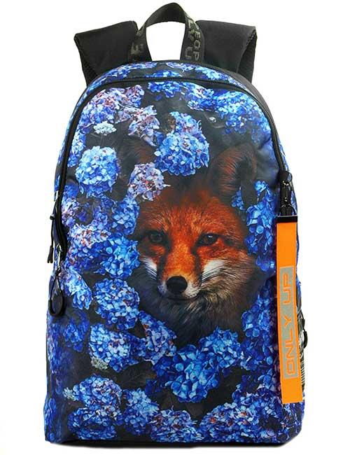 Рюкзак 2090034 Printbag лиса в цветах