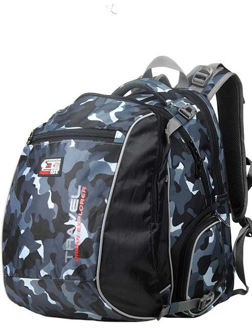 Рюкзак 2313 SB Combi Mid Plus школьный ортопедический для мальчика на 5-8 класс с мешком для обуви