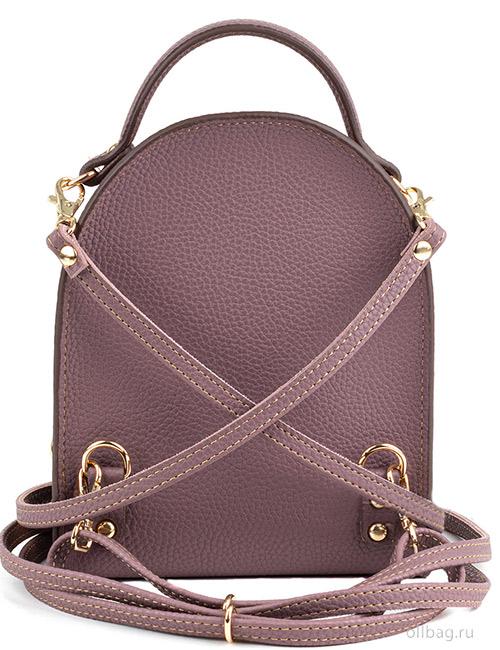 Сумка-рюкзак женская V133-004-1-10 сзади