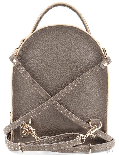 Сумка-рюкзак женская V133-004-1-13 сзади