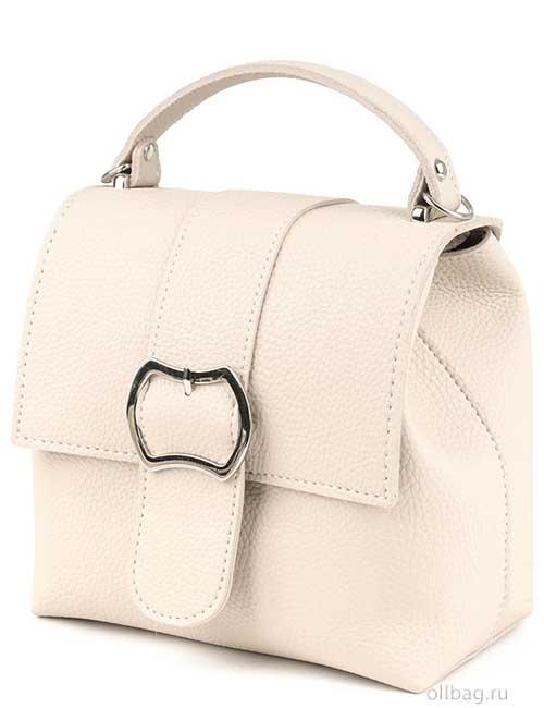 Сумка-рюкзак женская V139-001-7 экокожагладкая бежевая